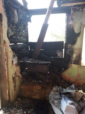 Міжгірські рятувальники ліквідували пожежу у житловому будинку (ФОТО)