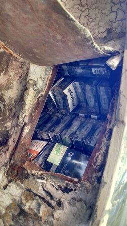 Власник «євробляхи» не тільки порушив терміни транзиту, а приховав 848 пачок цигарок
