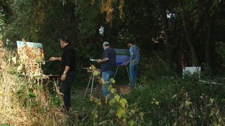 У Мукачеві стартував осінній міжнародний пленер художників