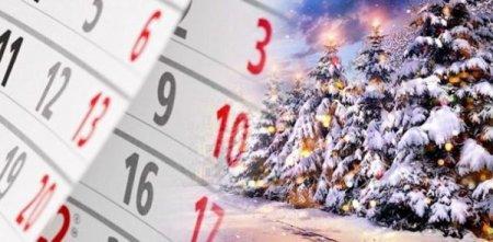 Оприлюднили перелік офіційних вихідних днів із нагоди Різдва і Нового року. Коли і скільки будемо відпочивати?