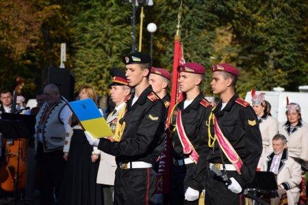 Закарпаття урочисто відзначає День захисника України (фото)