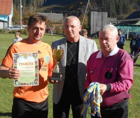 Вшанування футболістів Рахівщини (фото)