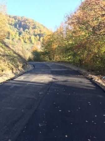 На Тячівщині триває ремонт дороги до присілка, в якому ніколи не було суцільного асфальту (ФОТО)
