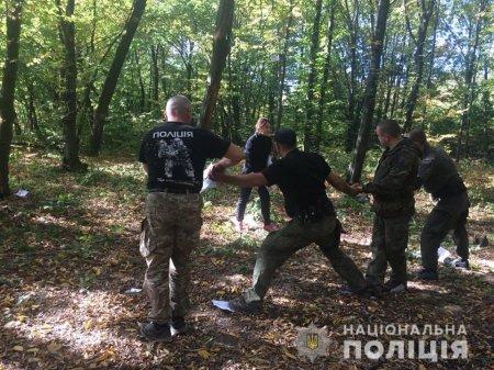 Закарпатські поліцейські роти особливого призначення разом із поліцейськими-психологами завершили ще один етап навчання (ФОТО)