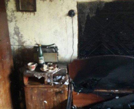 В Ужгороді у власному будинку згоріла літня жінка (фото)