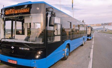В Ужгороді із 21 жовтня почнуть курсувати 10 нових автобусів
