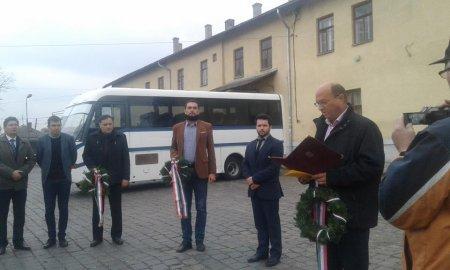 В Берегові пройшло відзначення 62-ї річниці революції 1956 року в Угорщині