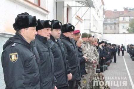 Закарпатська поліція одягнула зимову форму