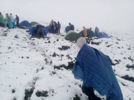 На Закарпатті рятували туристів зі снігової пастки