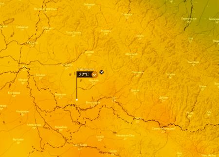 На вихідні погода порадує закарпатців на Виноградівщині +22 градуси тепла