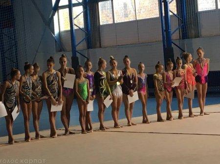 Назвали імена найкращих юних гімнасток Закарпаття (ФОТО)