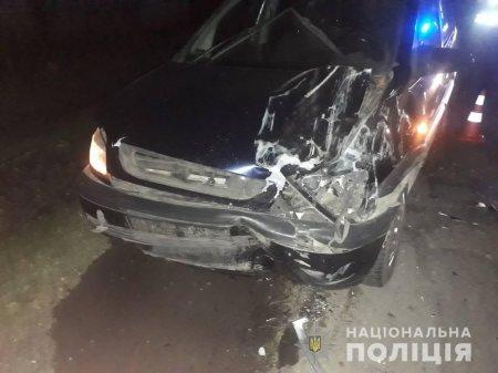 На Перечинщині з вини п'яного водія сталася ДТП (ФОТО)