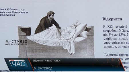 Виставка, присвячена Ігнацу Зіммельвейсу, почала діяти в УжНУ (ВІДЕО)