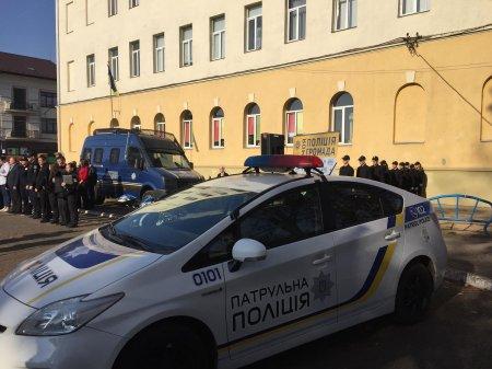 Дитяча поліція. Шкільний патруль запрацював у Мукачеві (ФОТО)