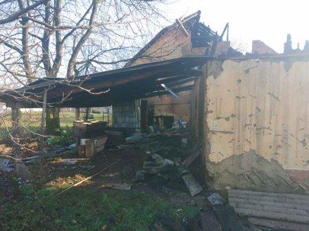 У с. Теребля Тячівського району на пожежі отримав опіки місцевий житель
