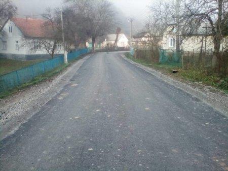 Дорога «Перечин – Мокра» до і після ремонту (ФОТО)