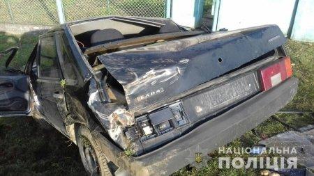 Закарпатець незаконно заволодів чужим автомобілем та розбив його