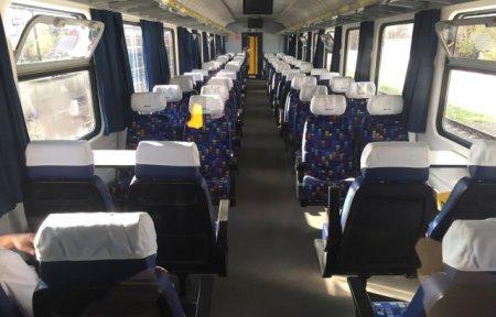 На Закарпатті зустрічали тестовий потяг з Угорщини