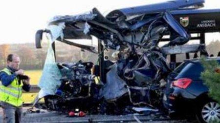 Зіткнулися два шкільних автобуси: десятки постраждалих