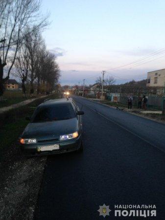 Загинув  велосипедист: поліція з'ясовує обставини  вчорашньої ДТП на Виноградівщині (ФОТО)