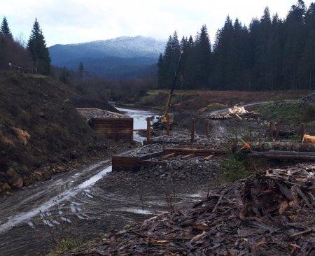 Триває реконструкція Музею лісу і сплаву на Чорній ріці (ФОТО)