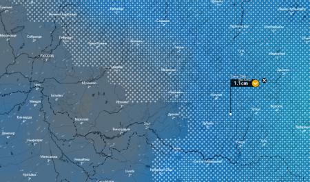 Погода в Закарпатті на 19 листопада – сніг,дощ в горах пориви вітру до  54 кілометрів в годину