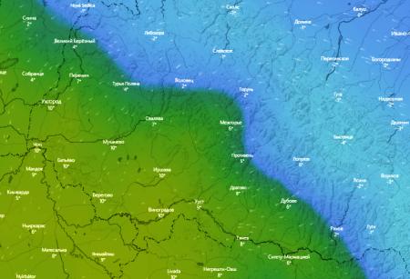 Погода на Закарпатті 20 листопада – в гірських районах ожеледиця