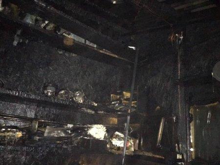 Свалявські вогнеборці ліквідували загорання у надвірній споруді
