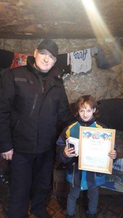 Отримала  нагороду: Пам'ятаєте дівчинку-героїню з Рахівщини