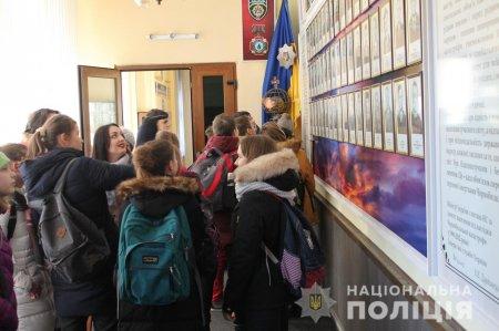 Закарпатська поліція приймала юних гостей