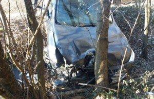 Жахлива ДТП на Закарпатті: Mercedes зіткнувся з Fiat-ом, відкинувши його на ВАЗ (ФОТО)