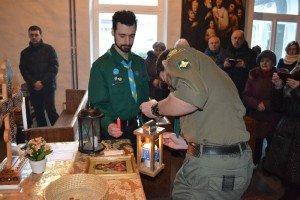 Вифлеємський вогонь миру вперше привезли до Ужгорода скаути зі Словаччини
