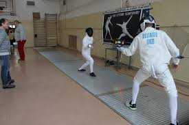 В Ужгороді на міжнародному новорічному турніру з фехтування змагалися спорстсмени з трьох країн (ВІДЕО)