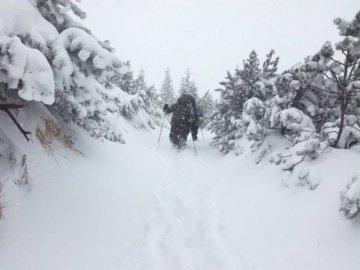 У Карпатах насипало понад метр снігу
