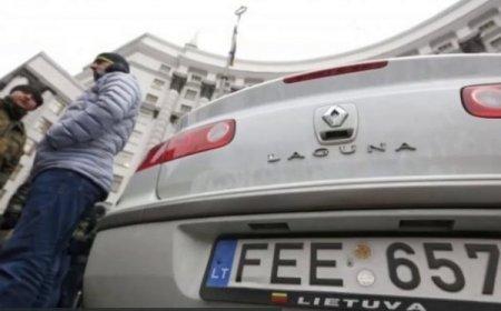 """""""Менше сотні"""": стало відомо скільки автомобілів в Україні розмитнили за новими правилами"""