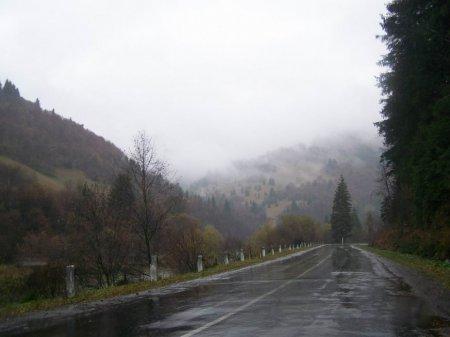 Завтра на Закарпатті дощі в горах з мокрим снігом