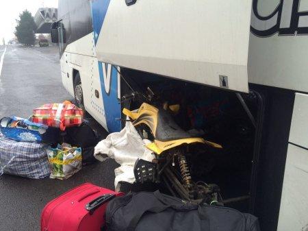 Прикордонники виявили в туристичному автобусі  незвичайну знахідку (ФОТО)