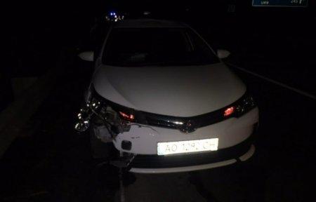 Біля Ужгорода водій іномарки насмерть збив велосипедиста (ФОТО)