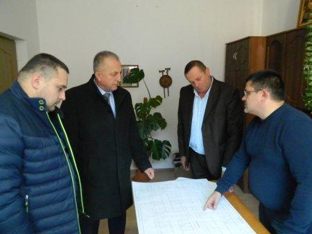 Відбулася зустріч з архітектором та підрядником, щодо побудови Квасівської школи (ФОТО)