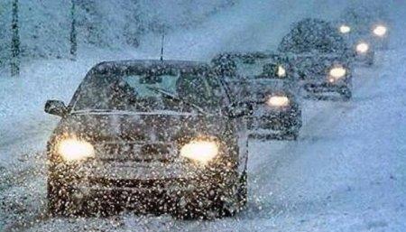 Штормове попередження! Сильний сніг та ожеледь на дорогах, будьте обачні