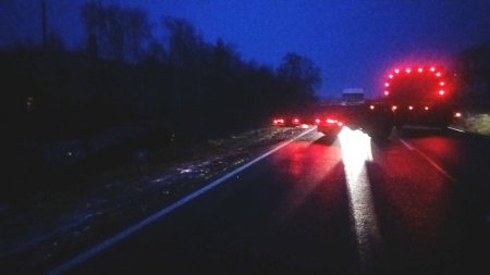 Під Виноградовом «Audi» влетіло в кювет – постраждалих нема