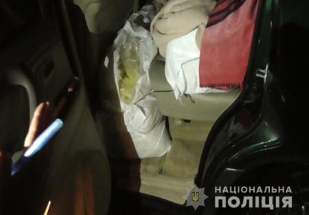200 кг бурштину закарпатські правоохоронці відібрали у жителя Луцька