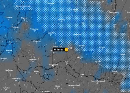 Погода в Закарпатті на 9 грудня