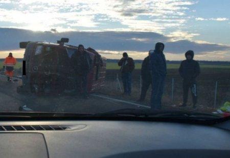 По дорозі з Італії розбилися два буси із заробітчанами. Одна українка загинула