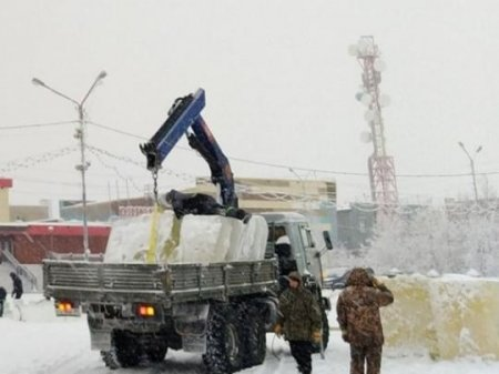 Льодове містечко для дітей побудували з фекалій: подробиці скандалу і фото