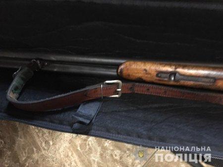 Поліція вилучила у жителя Мукачівщини незареєстровану зброю