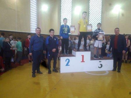 Новорічний турнір зібрав у Тячеві 120 юних борців греко-римського стилю