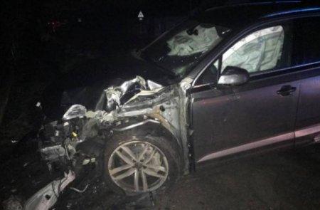 В Берегові сталася моторошна ДТП: іномарку розбили в хлам (фото)