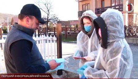 На  100% Полянська ОТГ  забезпечила громадян захисними масками (відео)