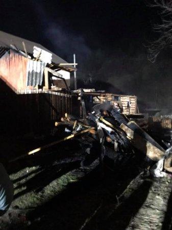 Вночі на Тячівщині трапилась жахлива пожежа